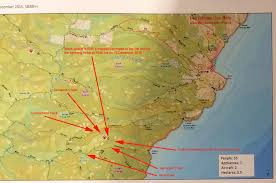 Lightning Strike Map Bushfire Fact Fiction And Other Information Relevant To Living