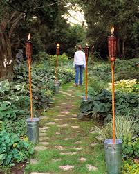Diy Backyard Lighting Ideas Outdoor Lighting Ideas Martha Stewart