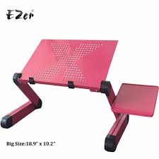 Adjustable Mobile Rolling Laptop Desk by Compare Prices On Laptop Table Stands Online Shopping Buy Low