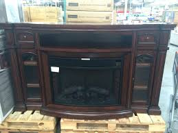 pleasant hearth 23 in electric fireplace logs heater included