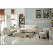 Modern Living Room Sets AllModern - Three piece living room set