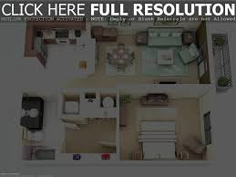 25 one bedroom houseapartment plans 1 apartment floor 3d m luxihome