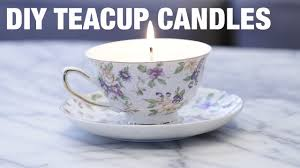 tea cup candles upcycled teacup candles