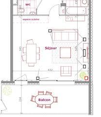 plan de cuisine en l amenager cuisine salon 30m2 amenagement salle a manger evtod