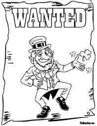 coloring pages free coloring pages of happy stpatricks day st