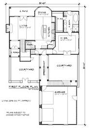 Mediterranean House Plans With Courtyard Love The Loggia With Seperated Guest Room And Courtyard In The