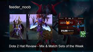 dota 2 hat review loda antimage and moonmeander invoker sets as