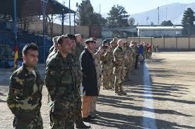 german british soldiers commemorate wwi christmas truce on kabul