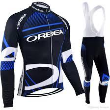 warm cycling jacket pro team cycling jerseys winter long sleeves sets cycling clothing