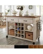 kitchen island with wine storage wine storage oak kitchen islands carts bhg com shop