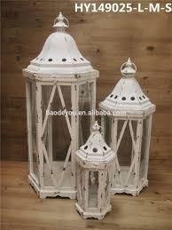 white wash home decoration small wooden lantern buy small wood
