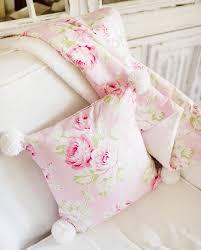 pink floral faux fur baby blanket baby crib blanket soft