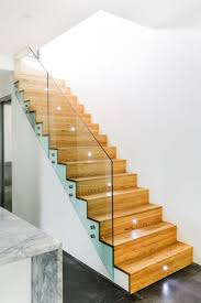 Wooden Stair Banisters Ideas Beautiful Glass Stair Railing Design Examples To Inspire