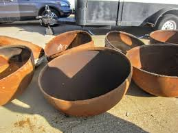 Propane Tank Firepit Fascinating Metal What Can I Use As A Bowl For A Diy Bowlpit