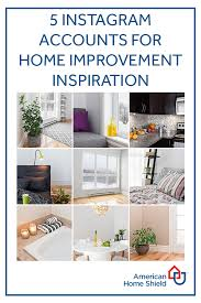 follow these 5 instagram accounts for home improvement inspiration