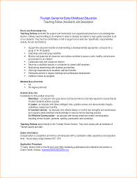 Kindergarten Teacher Resume Sample by 12 Early Childhood Education Cover Letter Sample Basic Job