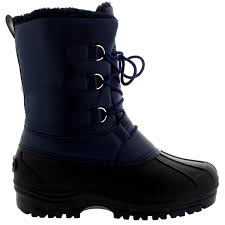 mens short motorcycle boots mens muck lace up short nylon winter snow rain lace up casual duck