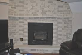 fireplace view how to cover old brick fireplace home decoration