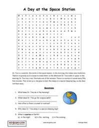esl english vocabulary printable worksheets space the planets