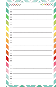 blank list half page free printable printables pinterest