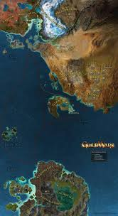 2007 World Map by Guild Wars World Map Augury Musings On Electronics And Culture