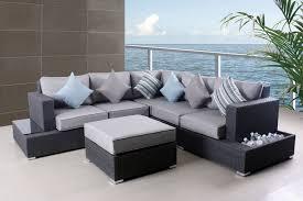 Grey Patio Furniture Sofa Set  Fashionable Grey Patio Furniture - Patio furniture sofa sets
