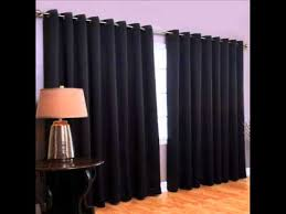 Blackout Curtain Panels With Grommets Wide Width Grommet Top Thermal Blackout Curtain Panel 100 Inch