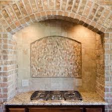 custom brick vent hood beacon kitchens pinterest vent hood