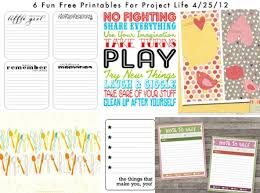 37 project free printables images project