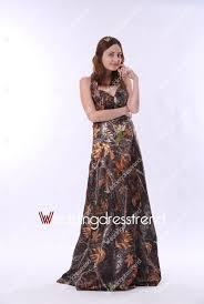 camo bridesmaid dresses cheap wholesale and retail halter floor length cheap camo wedding