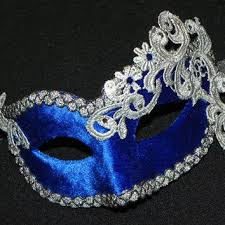 blue masquerade masks best silver lace masquerade masks products on wanelo