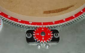 tk rotary table degree wheel for the legacy ornamental mill rotary