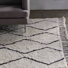 How To Clean A Fluffy Rug Souk Wool Rug Ivory West Elm