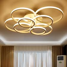 modern led bedroom ceiling lights cool warm white kitchen lamp