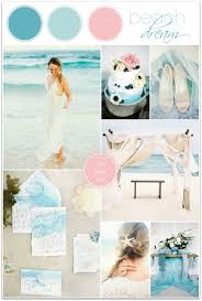 teal and pink beach wedding inspiration bride link