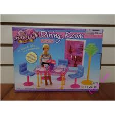 Dining Room Play Miniature Furniture My Fancy Life Dining Room B For Barbie Doll