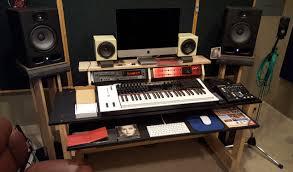 Music Studio Desk by October 2016 New Studio Desk New Desk Design Homestudioguy Com