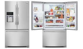 frigidaire glass door fridge top 10 best french door refrigerators