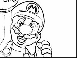 spectacular super mario coloring pages to print with mario and