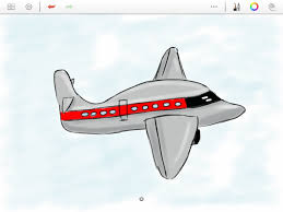 how to draw a cartoon plane easy for kids youtube