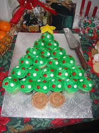 cupcake christmas tree u2013 happy holidays
