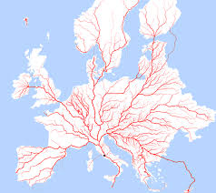Rome On World Map Do All Roads Lead To Rome The Answer Is Surprisingly Beautiful