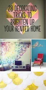 28 decorating tricks to brighten up your rented home dorm