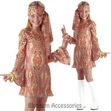 ck540 disco dolly girls 70s retro hippie go go groovy hippy fancy