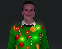 ugly christmas sweater with lights flashing lights ugly christmas sweater