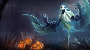 blue halloween background widescreen full hd halloween wallpaper wallpapersafari