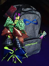 book bags with bows 51 best spotlight cheer bows images on cheer bows