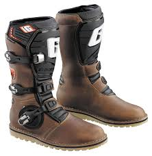 best leather motorcycle boots gaerne balance oiled boots revzilla