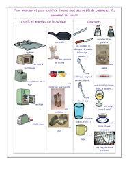 glossaire de cuisine vocabulaire des ustensiles de cuisine les aliments with vocabulaire