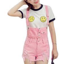 pink jumpsuit womens zyfpgs pink denim overalls rompers womens
